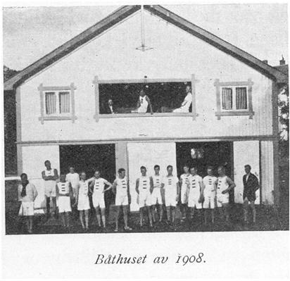 Det nye båthuset som ble bygget i Orsmundveien bidro til økt aktivitet i klubben.