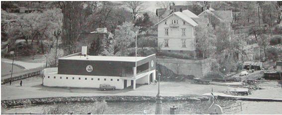 Klubbens nye hus som var ferdig i 1934 fikk mange lovord for sin utforming og utførelse