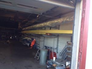 Ormsund åttere på plass i båthallen