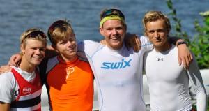 Guttene Jonas Juel Martin Steinnes Nicolay Bjønness Yngsdal Lars Benske