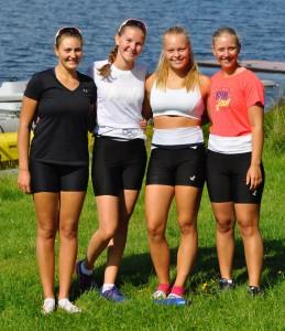 Ormsund jenter til Baltic cup.