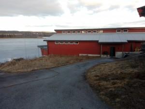Kongsvinger Roklubb. Ferdig bygget og klar for bruk.