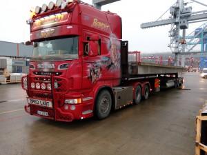 Riktig en trucker fra Fredrikstad.