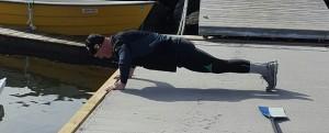 Morten Grepperud er strak i kroppen.