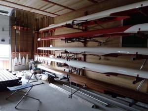 Orden i båthallen er noe vi kan lære på Kongsvinger.