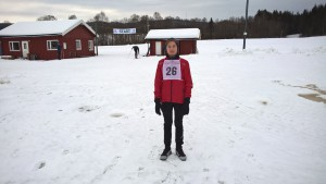 Adrian Lund med start nummer 28 i årets roerlangrenn.