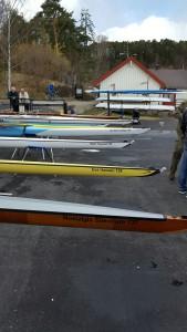 Ialt 19 båter fikk navn denne dagen.