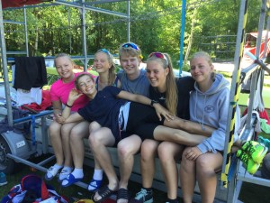 Rikke, Hannah, Oskar, Mathea, Emilie og Erlend.