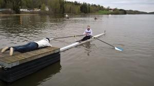 Oscar har gjort store fremskritt. Han begynet og debuterte i Ulvøya Rundt ifjor.