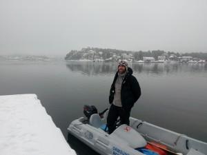 Ivo Yanakiev har jobbet jevnt og trutt for å følge opp våre roere og forbedre teknikken.