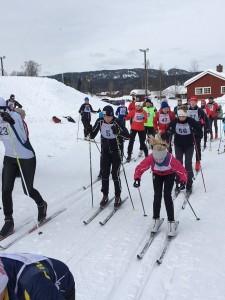Ormsund stilte med 19 deltakere til start.