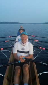 3/4 firer med Jan Sverre Nielsen, Dag Eriksen, Christian Grosse og Per Giltvedt. Cox Wenche Eriksen.